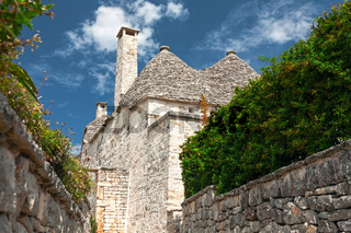 Typical Trulli houses in Alberobello, Puglia, Italy