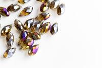 Shining beads - close up photo