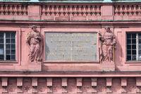 Schloss Darmstadt Inschrift
