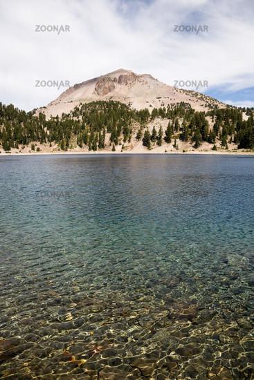 Lake Helen and Lassen Peak