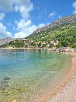 Strand von Brela an der Makarska Riviera,Adria,Dalmatien,Kroatien