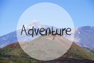 Vulcano Mountain, Text Adventure