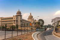 Vidhana Soudha the Bangalore State Legislature Building, Bangalore, India