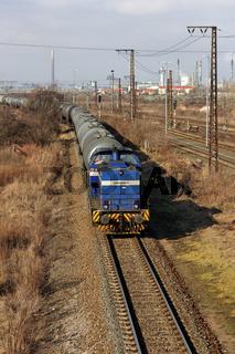Kesselwagenzug der Leuna-Werke
