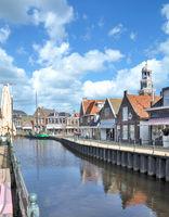 Fischerort Lemmer am Ijsselmeer,Friesland,Niederlande