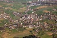 Dürrenäsch Kanton Aargau Schweiz Gemeinde Luftbild