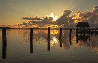 Traumhafter Tagesbeginn am Hemmelsdorfer See
