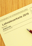 Lohnsteuerkarte / Income tax card