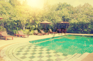 Swimming pool hotels