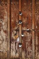 The famous Zanzibar doors in Stone Town, Tanzania