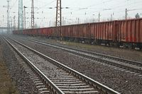 Railway Tracks and Wagons