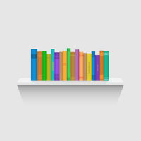 Book Shelf Illustration