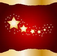 weihnachtshintergrund mit sternen