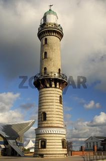 Alter Leuchtturm im Ostseebad Rostock-Warnemünde