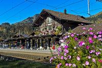Bahnhof von Saanen