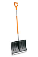 Snow shovels  on white background