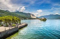 Maggiore lake, Italy