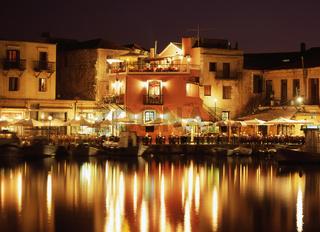Evening in Crete, Rethymnon