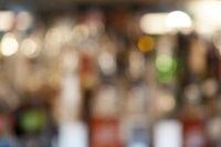 Blurred cocktail bar
