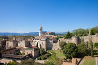 Old Town of Girona Cityscape