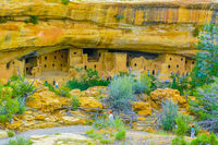 Cliff Palace Mesa Verde National Park Arizona