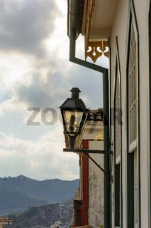 Ouro Preto lights and facade