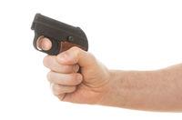 Small old alarm pistol