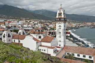Basilica at Candelaria, Tenerife Island