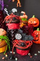Bunte Suessigkeiten zu Halloween
