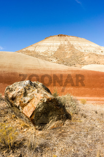 Rocks Terrain John Day Fossil Beds Oregon State