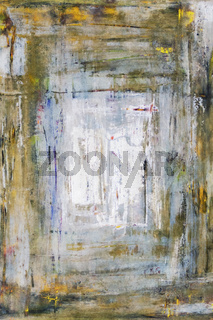 oil on canvas abstract painting