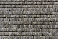 old timber shingles