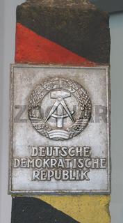 Grenzstein DDR