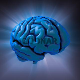 Human brain abstract