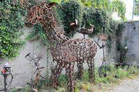 Pferd aus Eisen