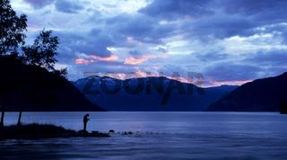 Blaue Stunde am Eidfjord
