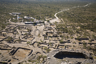 Ruinen von Quilmes, alte Indianersiedlung Argentinien, Ruins of Quilmes, old colony of Quilmes-Indians, Argentina