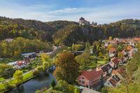Castle Vranov nad Dyji in Czech Republic
