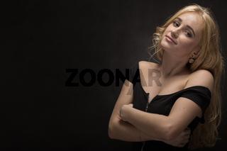 sensual beautiful blond