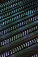 modern abstract background detail of interior design lights