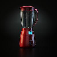 3D rendering electric blender