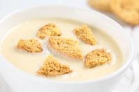Danish Cold Buttermilk Koldskal Dessert Soup