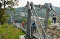 Hängebrücke Rappbode-Talsperre