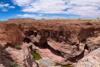 Sesriem canyon of Tsauchab river, Sossusvley, Namibia