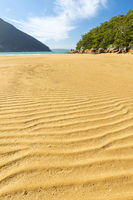 Sand Patterns On Beach