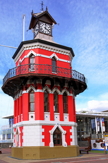 Uhrenturm an der Waterfront, Kapstadt, Südafrika, clock tower at the Waterfront, Cape Town, South Africa