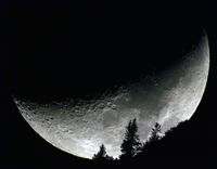 Mond Untergang