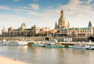 Dresden Elbe Promenade