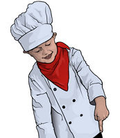 Little Chef Pointing