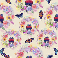 seamless  nature pattern